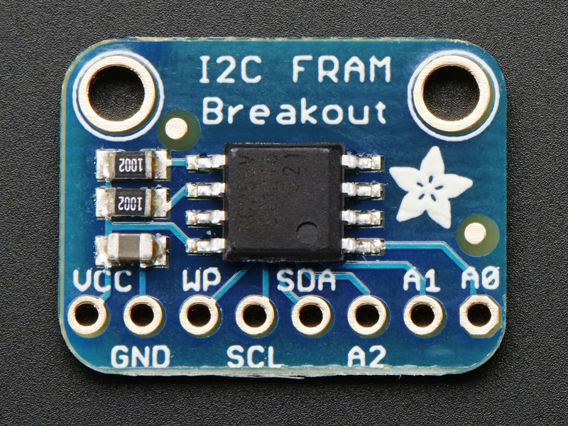 Arduino Test | Adafruit I2C FRAM Breakout | Adafruit Learning System