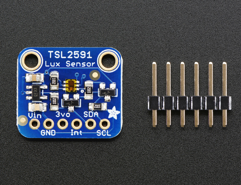 Overview | Adafruit TSL2591 High Dynamic Range Digital Light Sensor