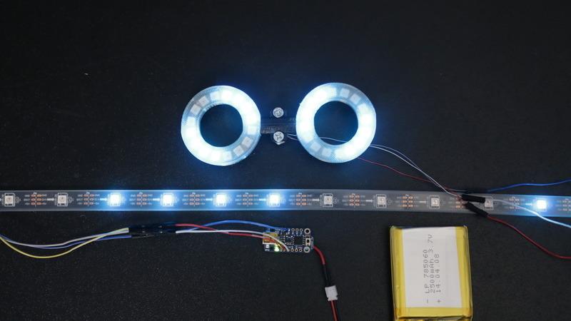 test circuits trinket neopixel led longboard adafruit. Black Bedroom Furniture Sets. Home Design Ideas