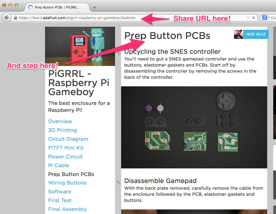 community_support_Prep_Button_PCBs___PiGRRL_-_Raspberry_Pi_Gameboy___Adafruit_Learning_System.jpg