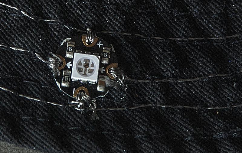 Neopixel stitching