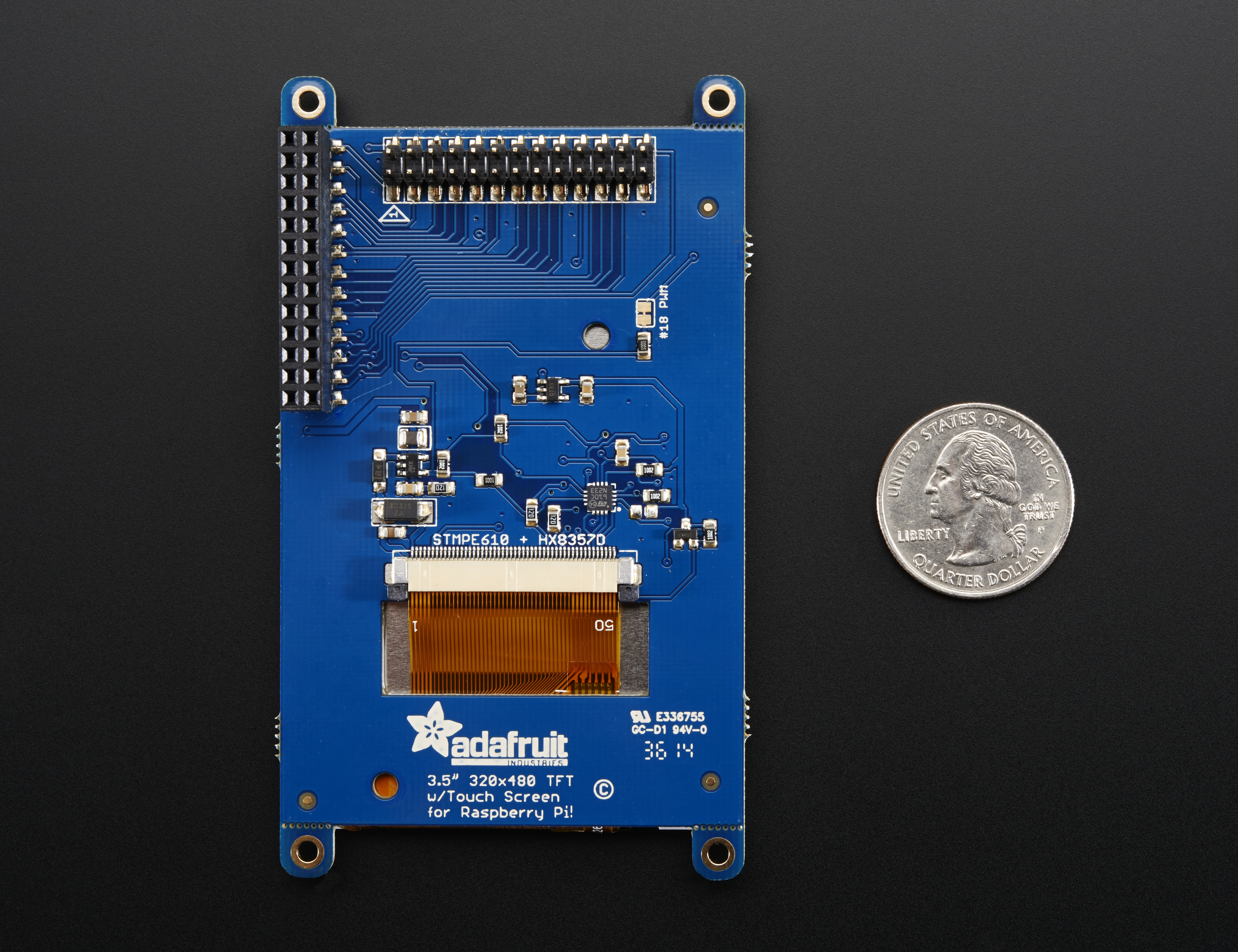 3 3 1  Interfacing SPI TFT displays with touch — Red Pitaya