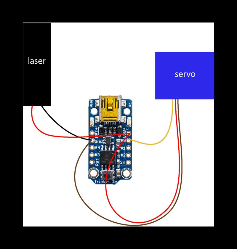 circuit diagram laser dog goggles adafruit learning system rh learn adafruit com burning laser circuit diagram laser alarm circuit diagram