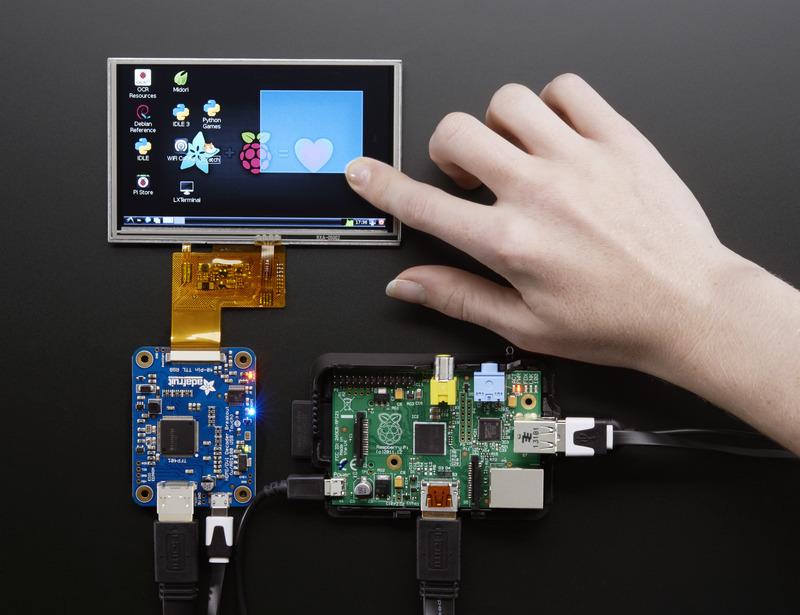 Touch Screen Adafruit Tfp401 Hdmi Dvi Decoder To 40 Pin