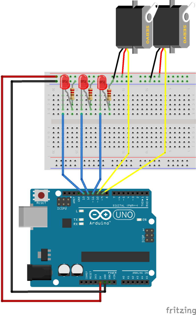A clean sweep multi tasking the arduino part