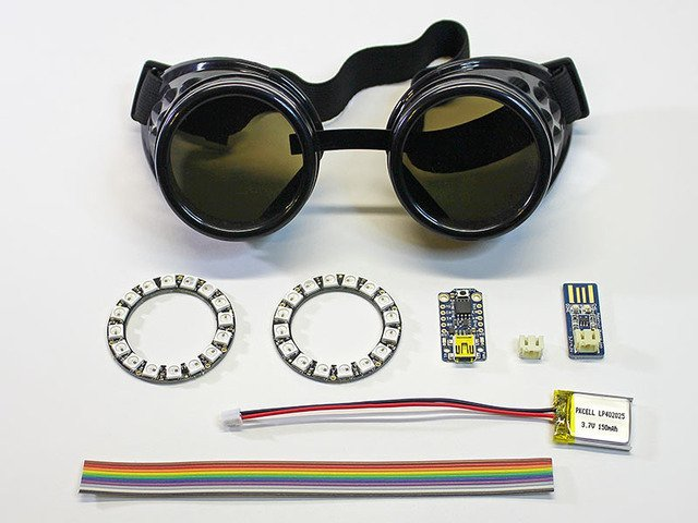how to make your own infrared goggles
