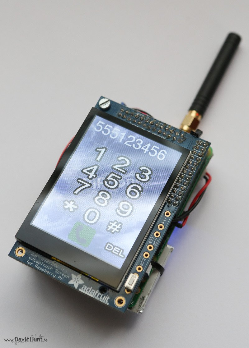Overview Piphone A Raspberry Pi Based Cellphone
