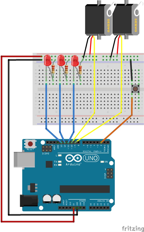 Setup multi tasking the arduino part adafruit