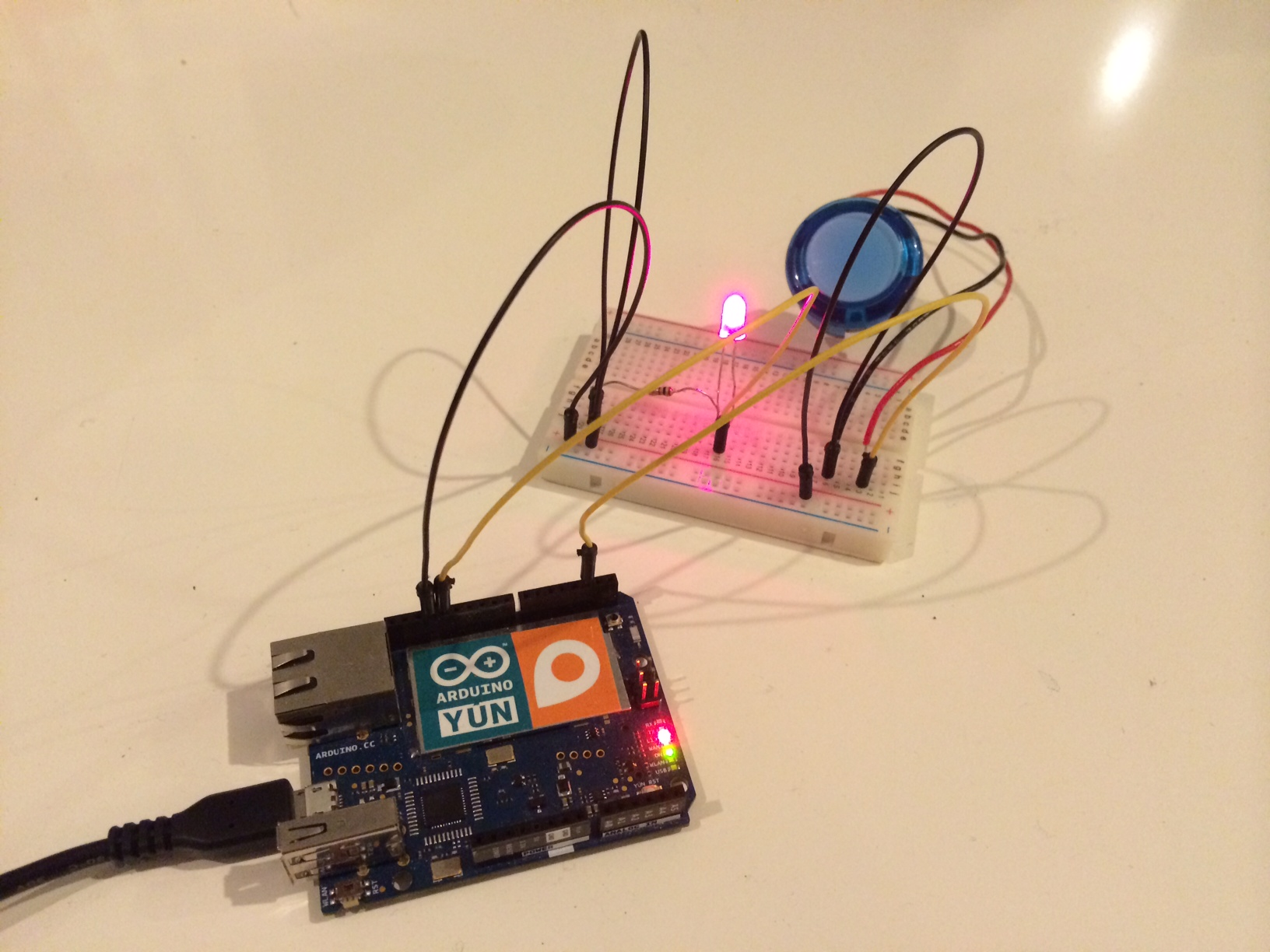 web server - Webserver with Arduino Yun without SD