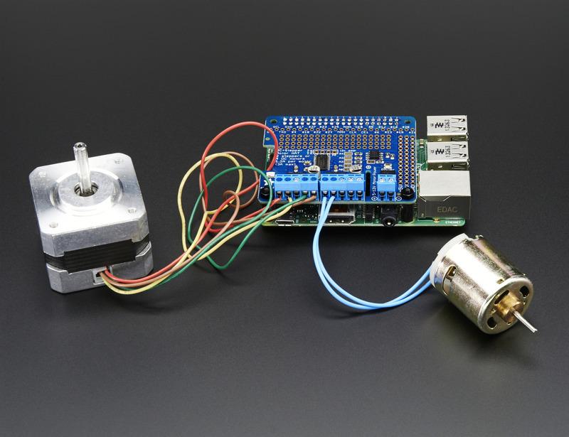 2 3B+ Controls upto 4 motors /& 2 Stepper 3 Motorshield for Raspberry Pi Zero