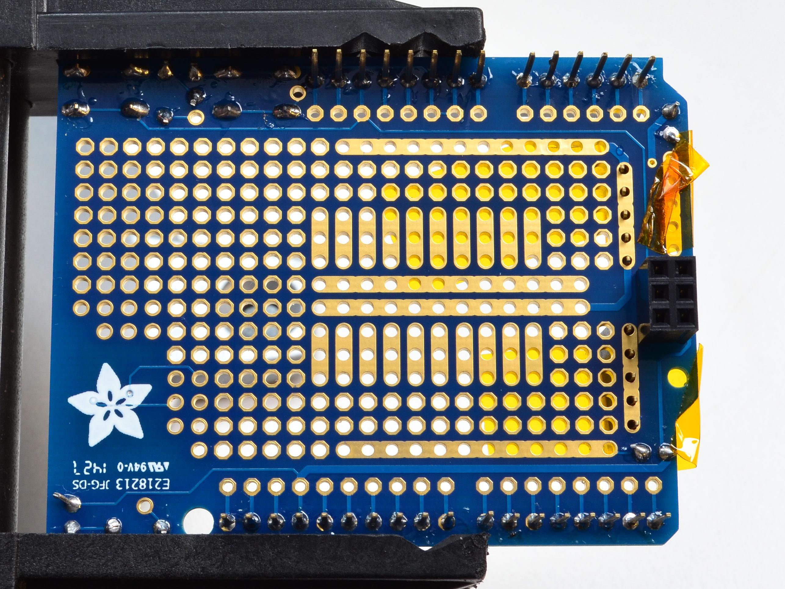 A000077 Arduino Proto Shield Rev3 assembled Arduino