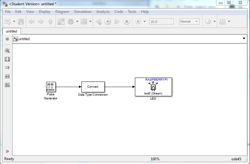 Using Simulink Support Package and Raspberry Pi | Set up and Blink