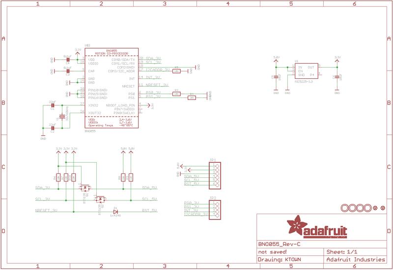 Overview | Adafruit BNO055 Absolute Orientation Sensor | Adafruit