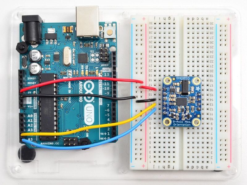 Overview | Adafruit BNO055 Absolute Orientation Sensor