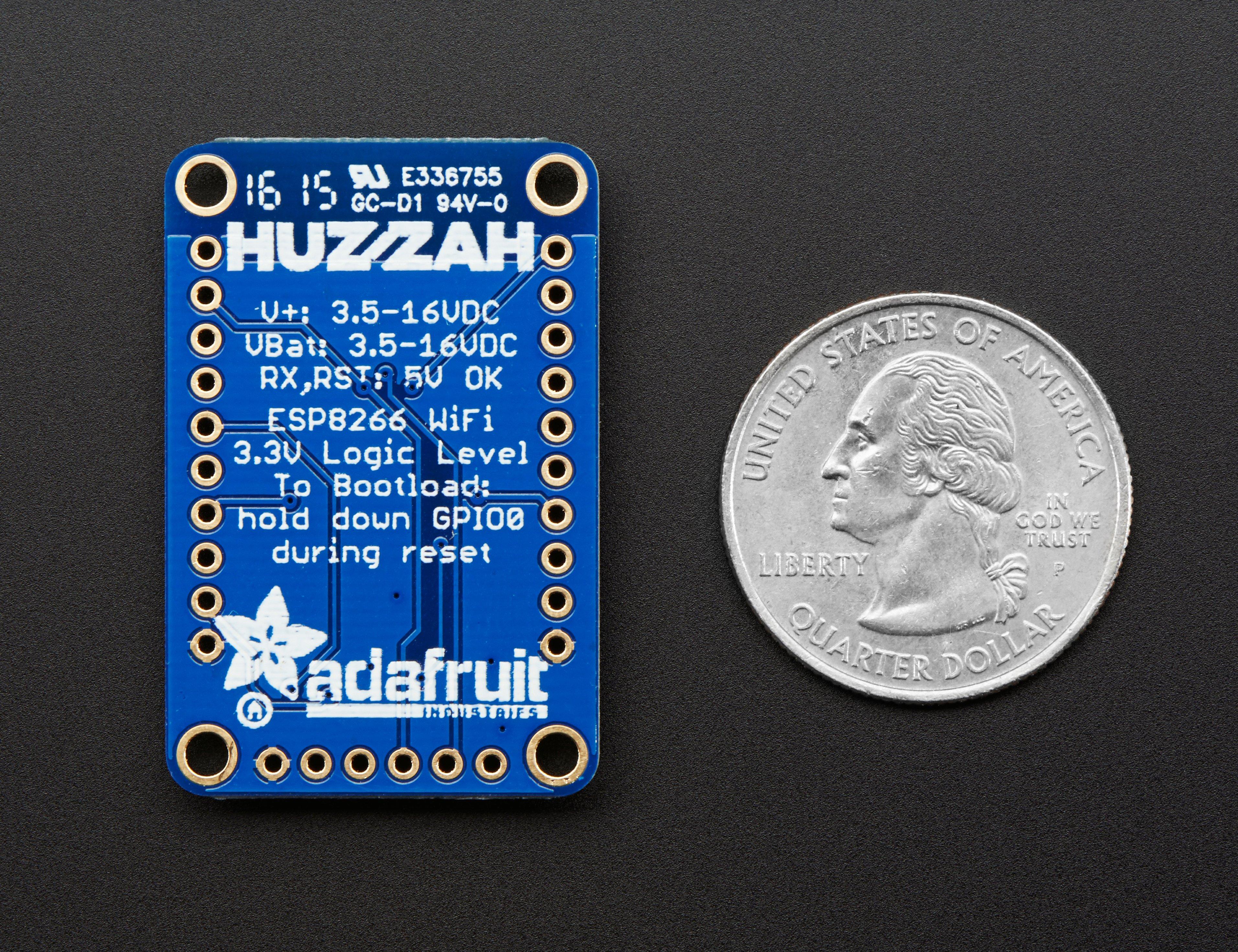 Using HUZZAH ESP8266 and Arduino Uno