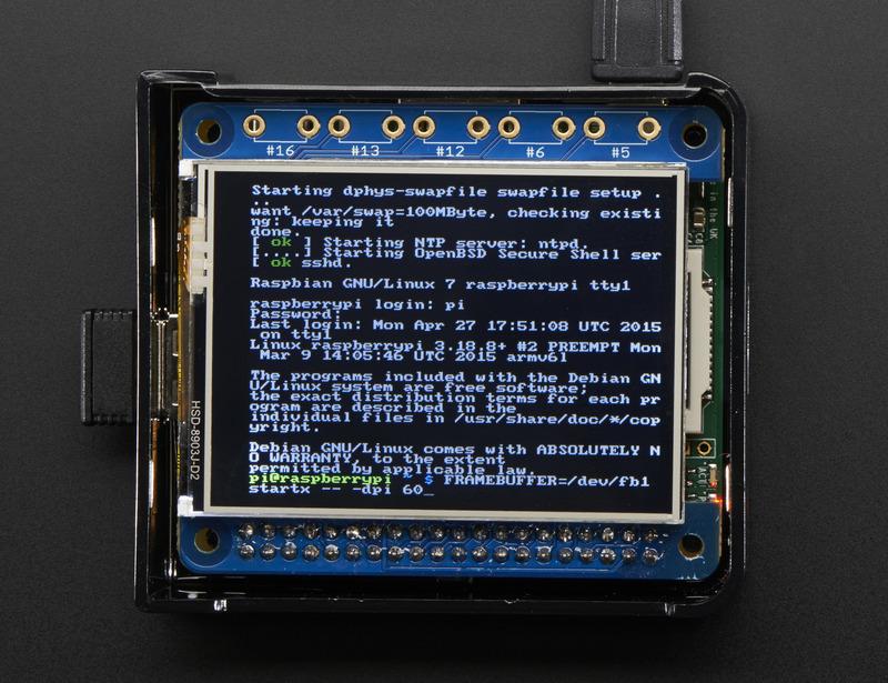 Console Configuration | Adafruit PiTFT - 2 8
