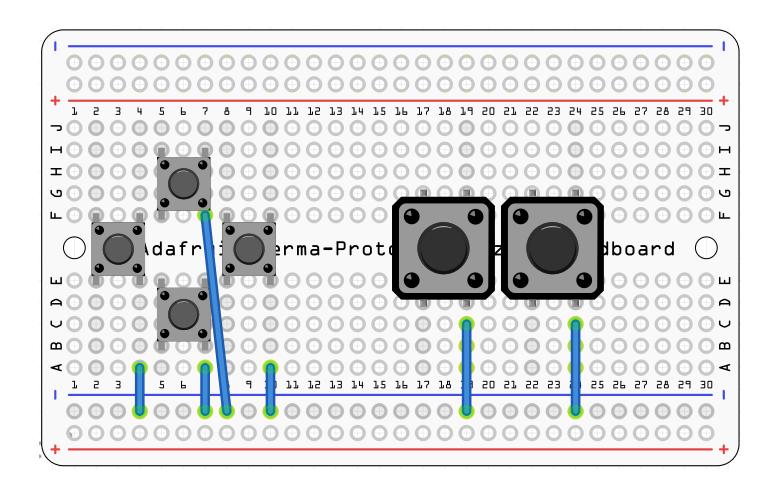 circuit diagram pocket pigrrl adafruit learning system gaming gamepad button pcb png