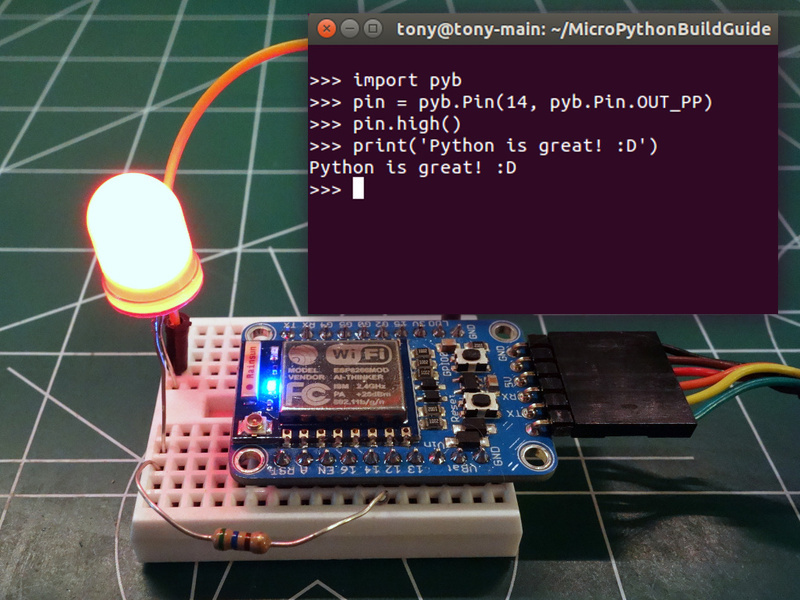 Overview | Building and Running MicroPython on the ESP8266