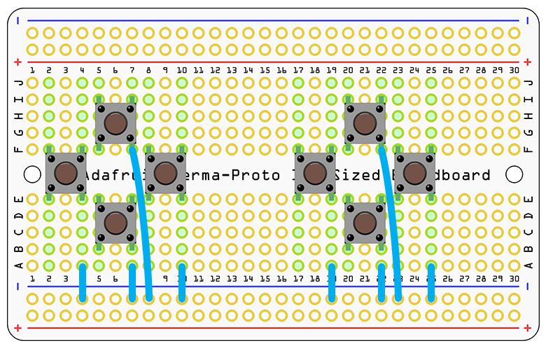 circuit diagram pocket pigrrl adafruit learning system Pipe Light Wiring Diagram gaming four button pcb
