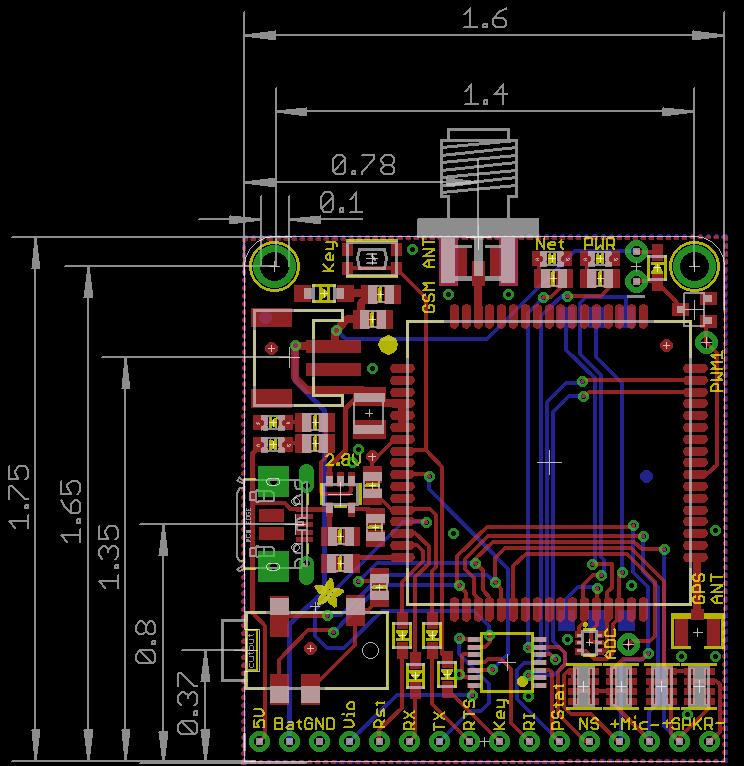 Overview | Adafruit FONA 808 Cellular + GPS Breakout | Adafruit