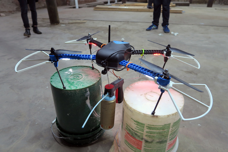 Overview Quadcopter Spray Can Mod Adafruit Learning System