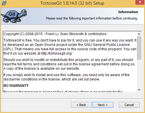 Installing TortoiseGit on Windows | An Introduction to