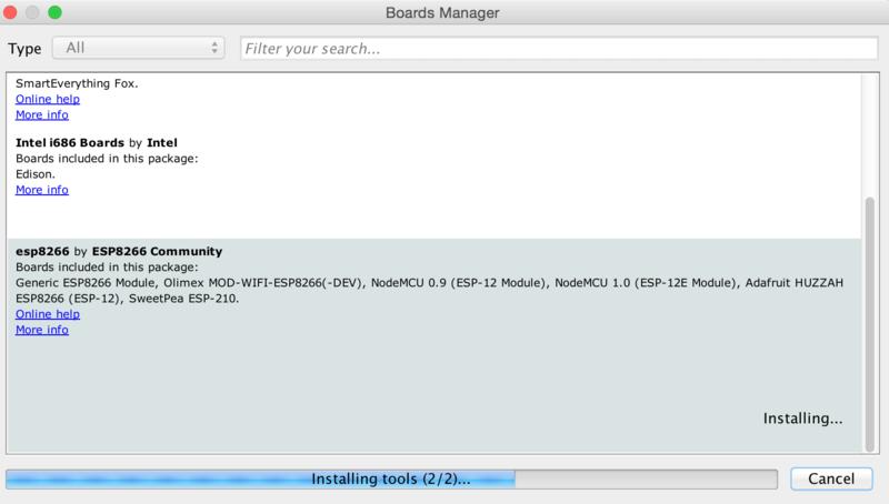 Using Arduino IDE | Adafruit HUZZAH ESP8266 breakout | Adafruit