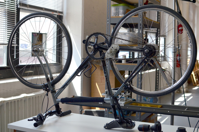 Install on bike bike wheel pov display adafruit for Bicycle wheel table