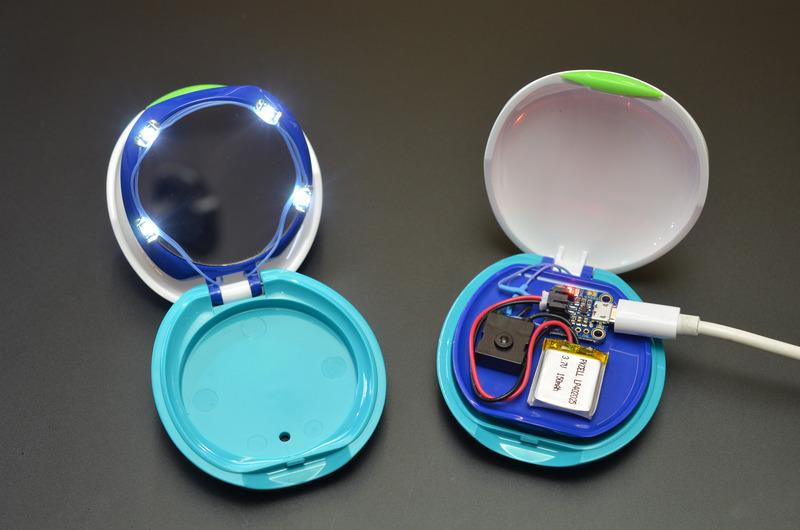 Use It Diy Rechargeable Led Makeup Compact Adafruit