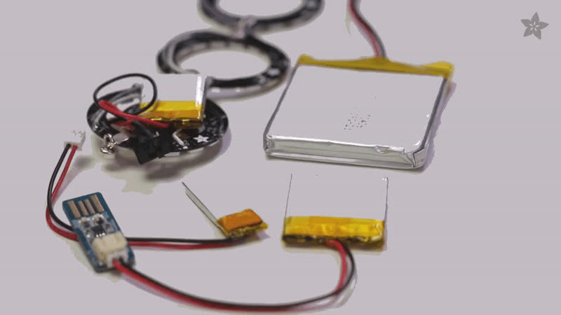 LiPoly rechargeables | Battery Powering Wearable Electronics ...