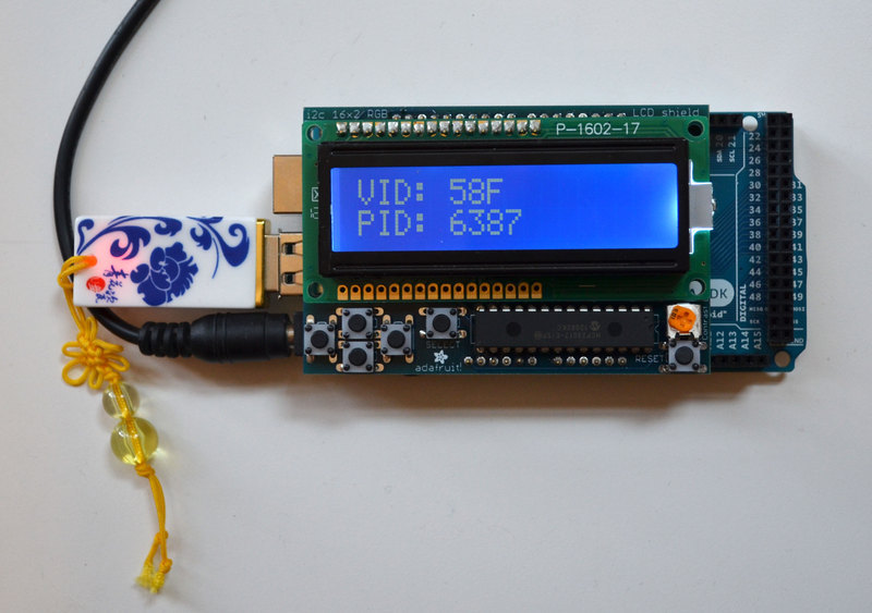 Let s do this thing simple arduino based usb vid pid