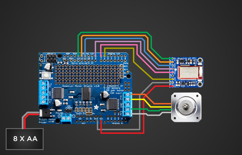 Circuit Diagram | Bluetooth Controlled Motorized Camera Slider ...