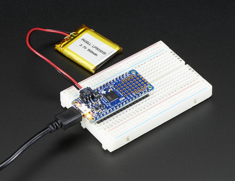 Power Management | Adafruit Feather 32u4 Basic Proto | Adafruit