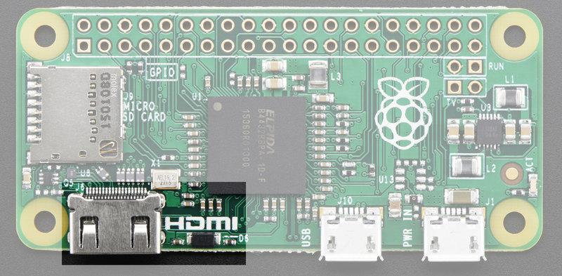 Video Outputs | Introducing the Raspberry Pi Zero | Adafruit ...