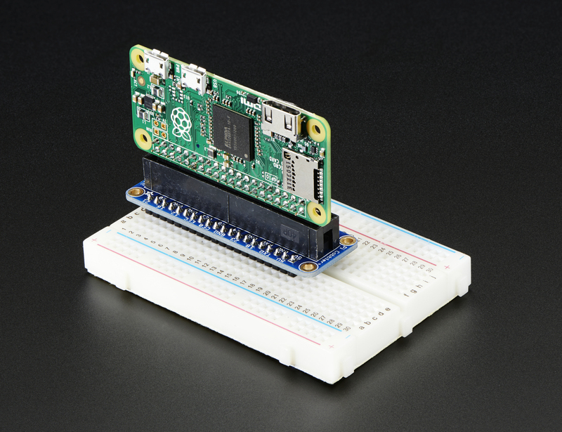 Gpio Header Options Introducing The Raspberry Pi Zero