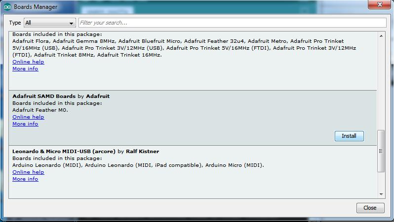 Using with Arduino IDE | Adafruit Feather M0 Basic Proto | Adafruit