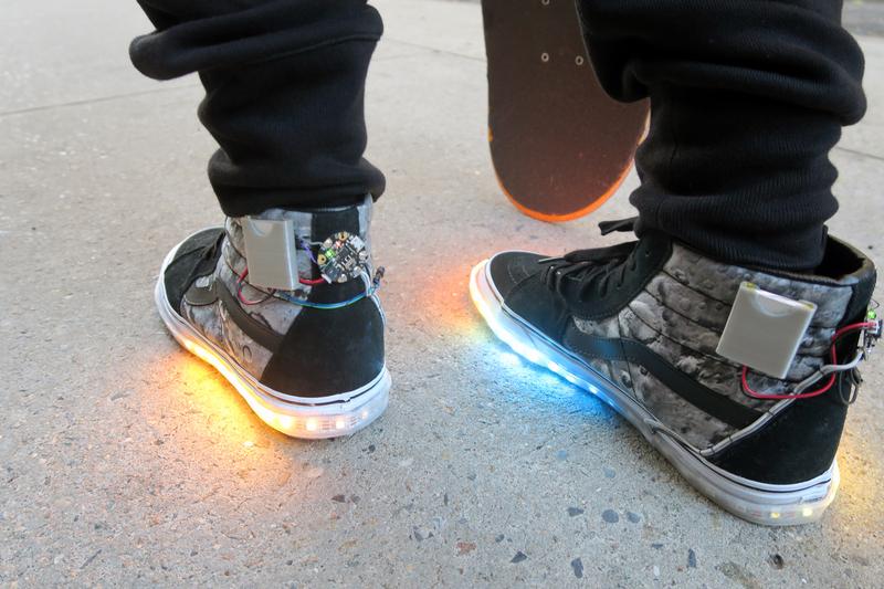 rgb led shoes