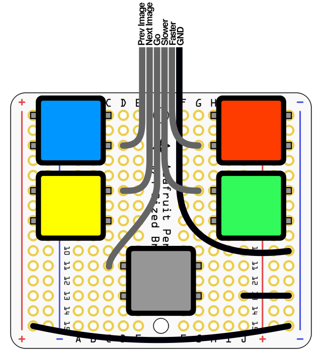 Rgbw Led Controller Build It together with Wiring Up A Fog Light together with Rgbw Led Controller Build It as well Assembly Part 3 together with Wiring Diagram For 4 Pin Led Momentary Switch. on which way will i place a momentary tactile switch