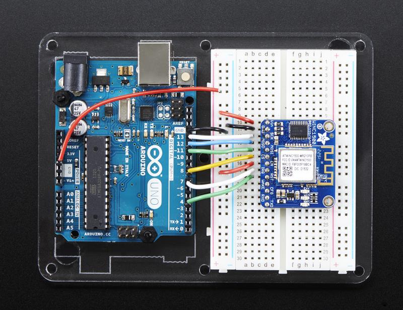 Wiring test adafruit atwinc wifi breakout