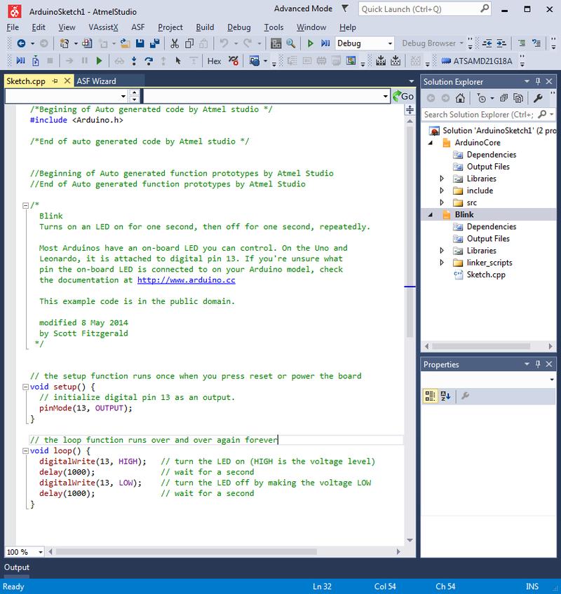 Let s go proper debugging of atsamd processors