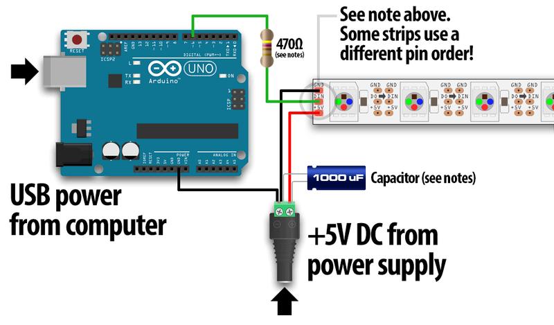 ws2812 wiring diagram   21 wiring diagram images
