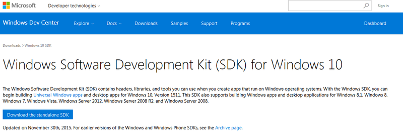 Installing Windows SDK | How to Sign Windows Drivers & Executables