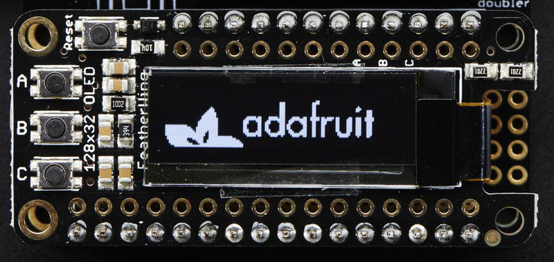 Arduino Code | Adafruit OLED FeatherWing | Adafruit Learning