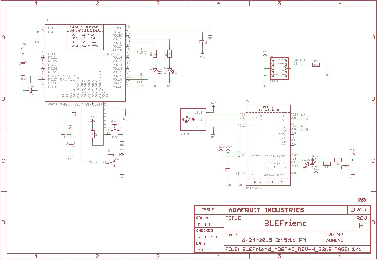 Bluefruit LE Sniffer - Bluetooth Low Energy (BLE 4 0) - nRF51822 - v1 0  (ID: 2269)