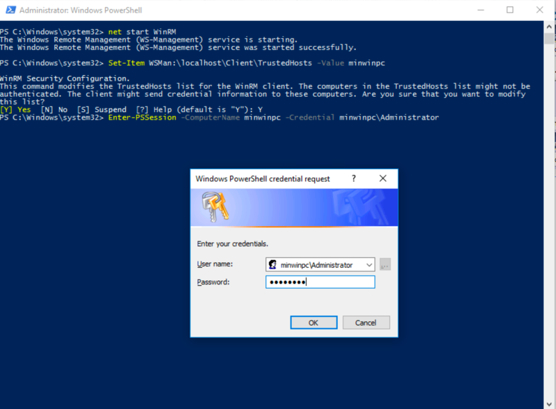 PowerShell: Getting Started | Windows IoT Core Application