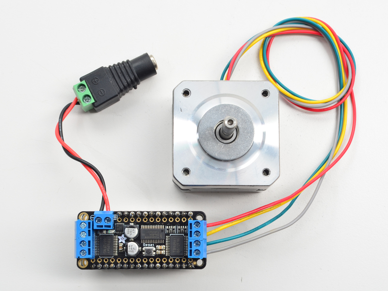 Using stepper motors adafruit stepper dc motor for Dc stepper motor working