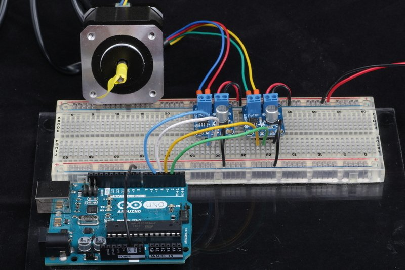 Testing Current Limiting Stepper Driver With Drv8871