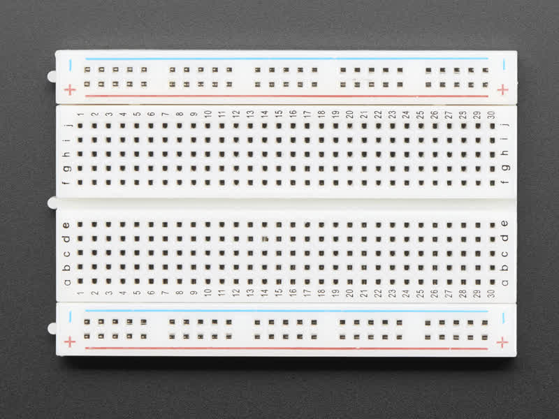 Introduction Breadboards For Beginners Adafruit Learning System