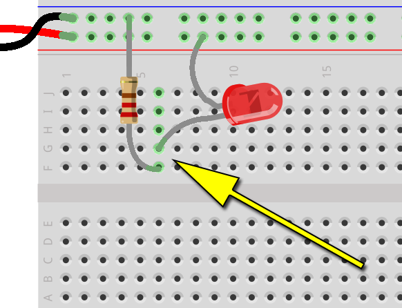 Introduction | Breadboards for Beginners | Adafruit Learning ... on wiring a battery, wiring a mosfet, wiring a breakout board, wiring a box, wiring a lcd, wiring a circuit board, wiring a relay, wiring a hot plate, wiring a voltmeter, wiring a switch, wiring a potentiometer, wiring a speaker,
