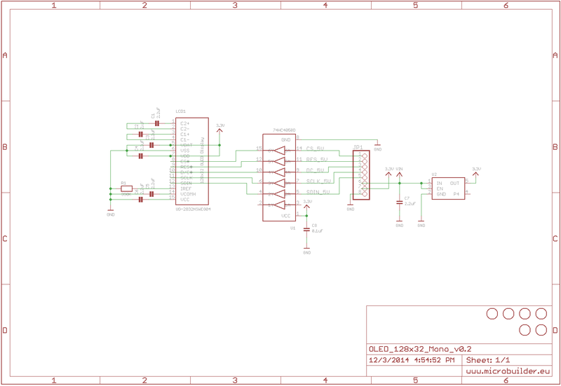 Wiring 128x32 SPI OLED display | Monochrome OLED Breakouts ... on usb 3 wire, sata 3 wire, rs485 3 wire, spt 3 wire,
